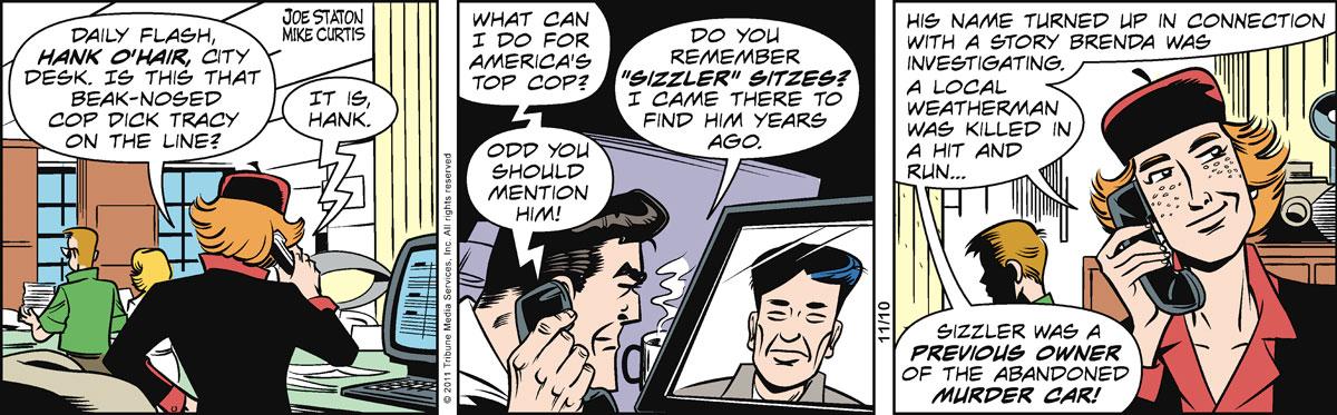 Dick Tracy Comic Strip for November 10, 2011