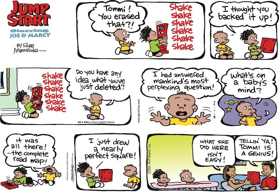 JumpStart Comic Strip for August 01, 2021