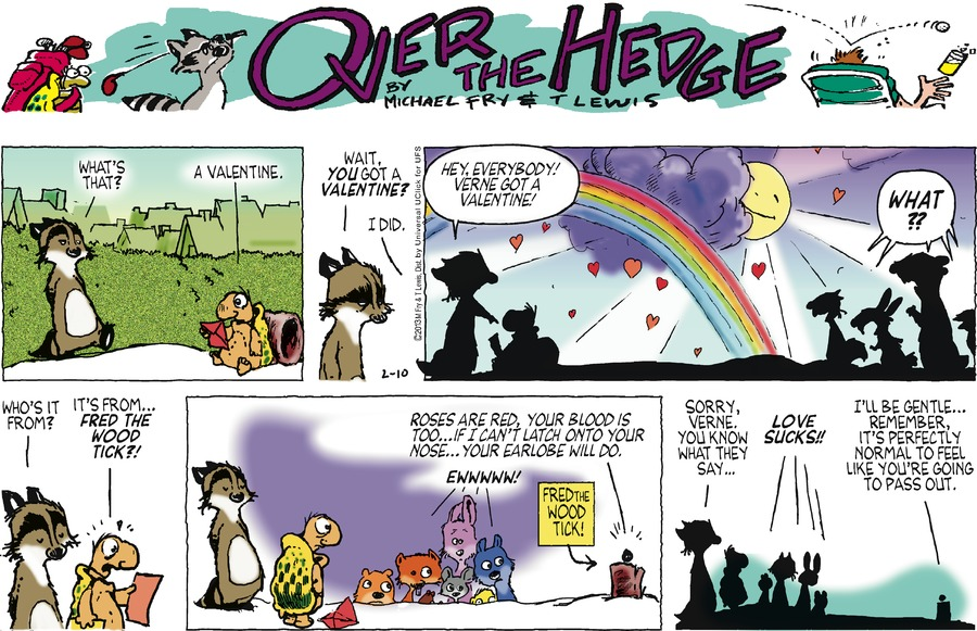 Over the Hedge for Feb 10, 2013 Comic Strip