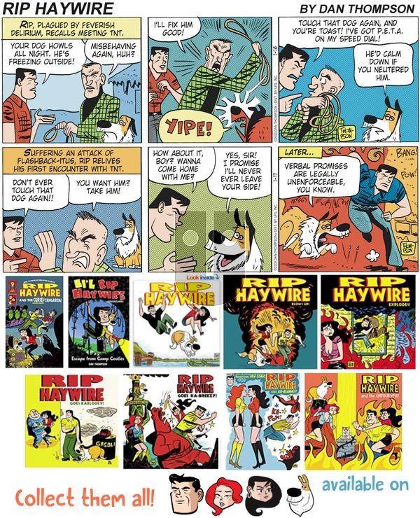 Rip Haywire on Sunday April 29, 2018 Comic Strip