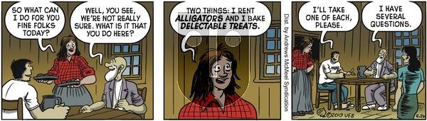 Alley Oop on Saturday April 20, 2019 Comic Strip
