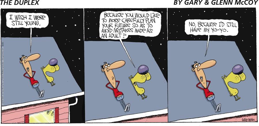 The Duplex Comic Strip for August 25, 2019