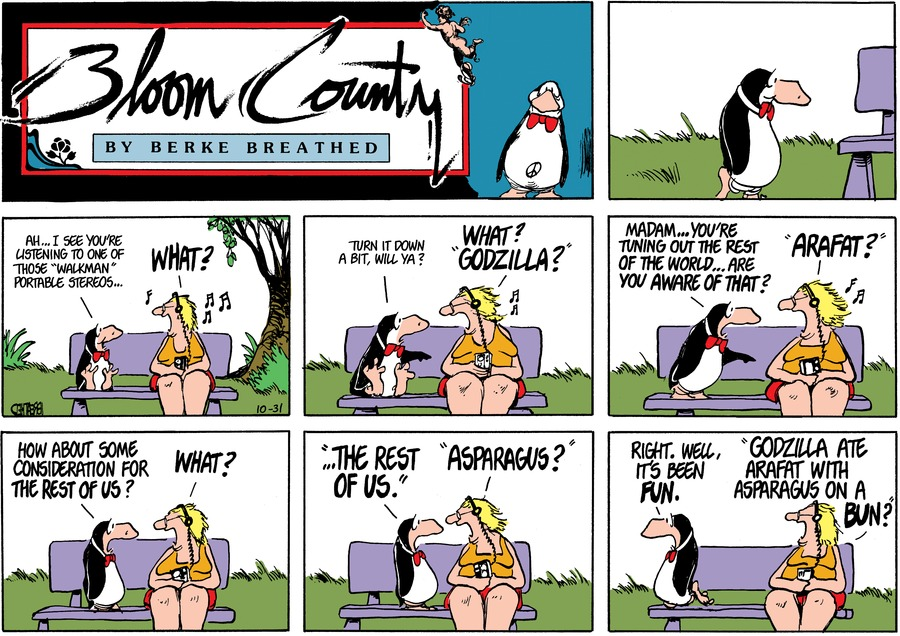 Bloom County Comic Strip for July 12, 2018