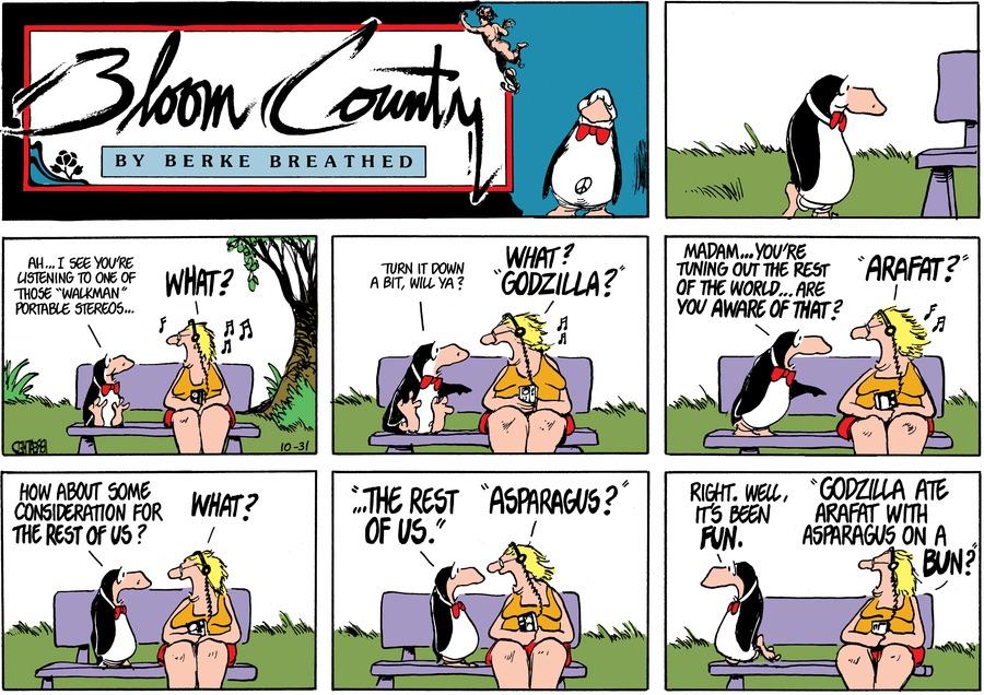Bloom County for Jul 12, 2018 Comic Strip