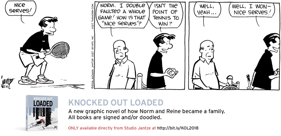 The Norm Classics Comic Strip for February 19, 2019