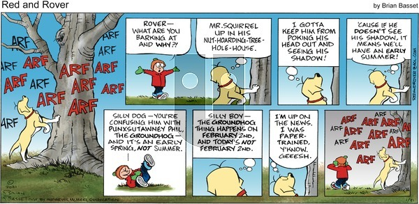 Red and Rover on Sunday January 31, 2021 Comic Strip