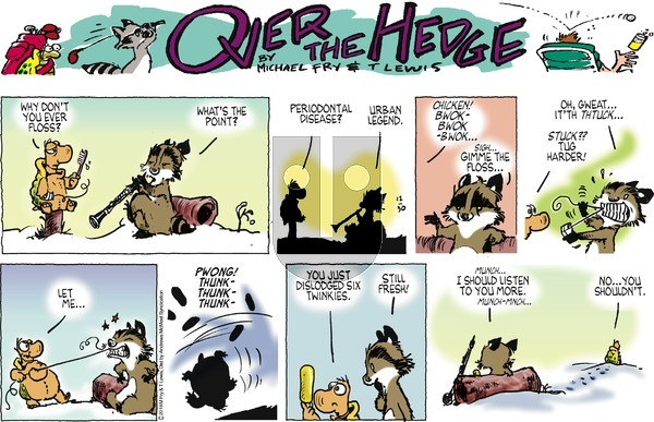 Over the Hedge on Sunday December 30, 2018 Comic Strip
