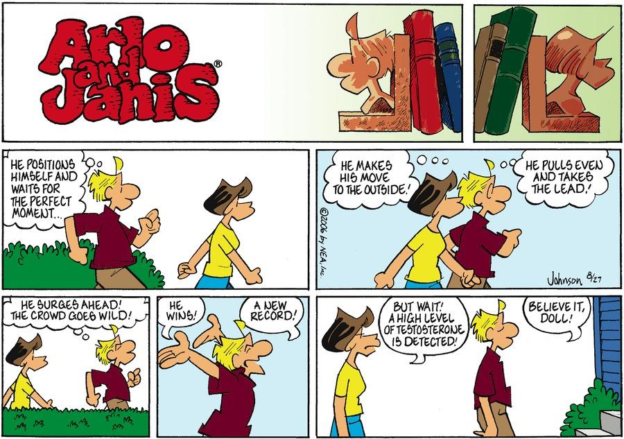 Arlo and Janis for Aug 27, 2006 Comic Strip