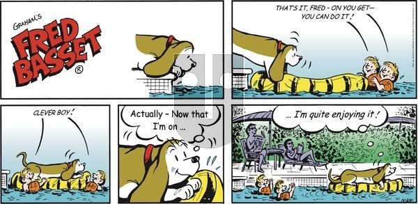 Fred Basset on Sunday September 5, 2021 Comic Strip