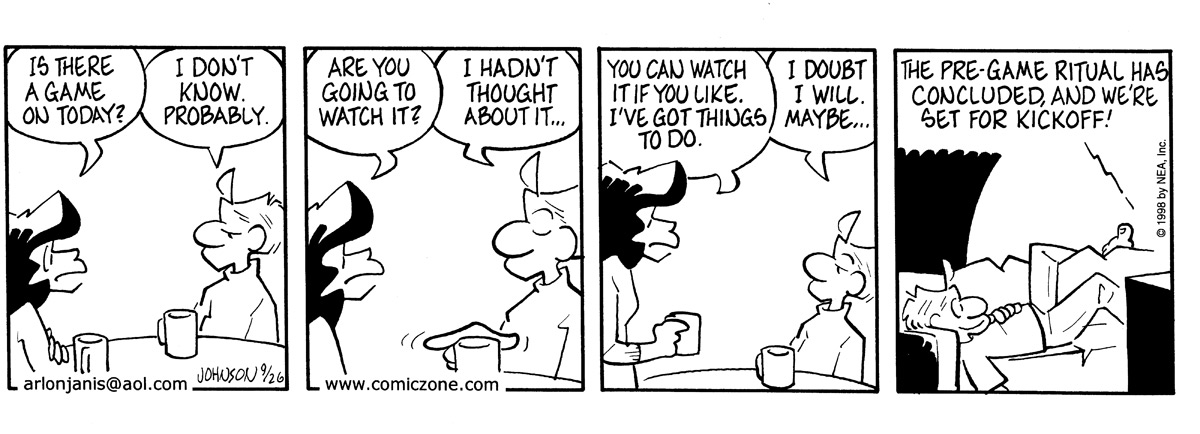 Arlo and Janis Comic Strip for September 26, 1998