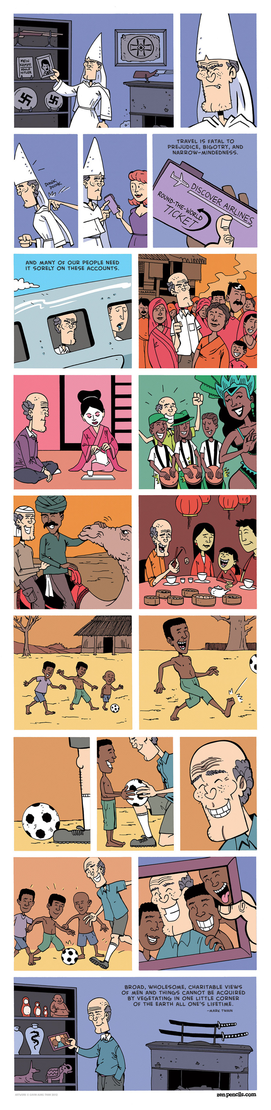 Zen Pencils for Nov 29, 2013 Comic Strip