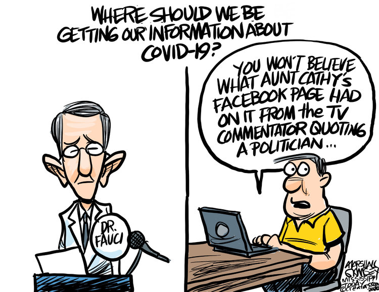 Marshall Ramsey Comic Strip for March 24, 2020