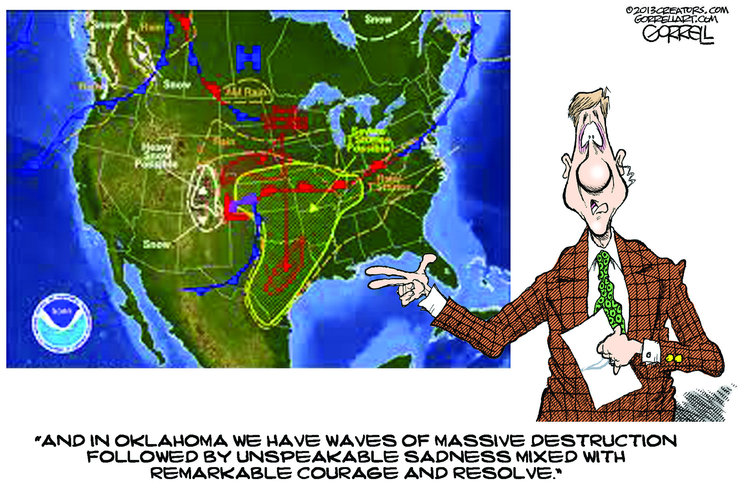 Bob Gorrell for May 22, 2013 Comic Strip