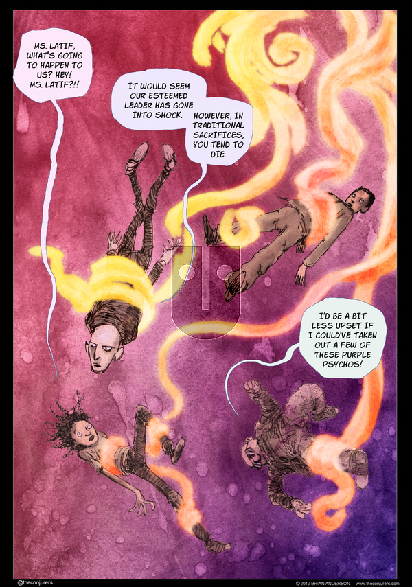 The Conjurers on Monday January 20, 2020 Comic Strip