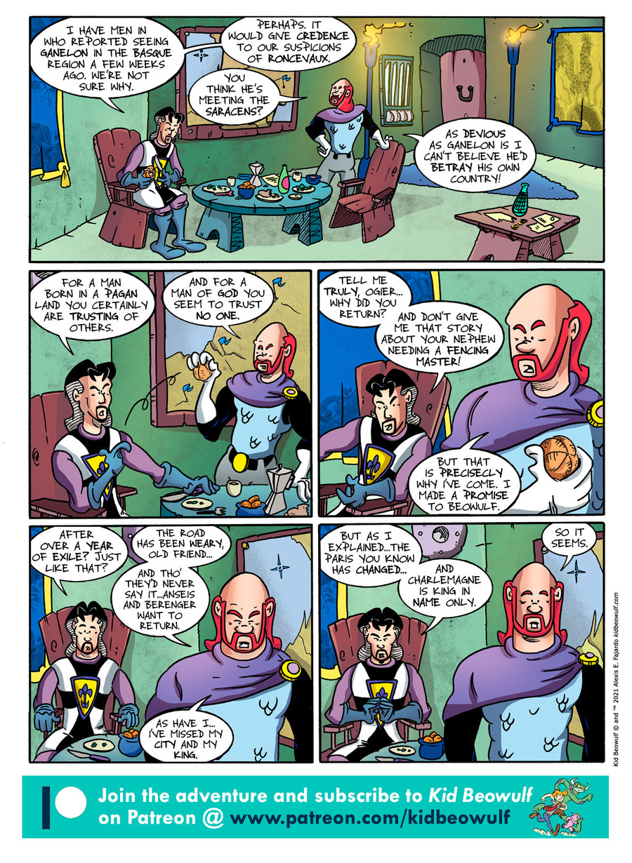 Kid Beowulf Comic Strip for June 14, 2021