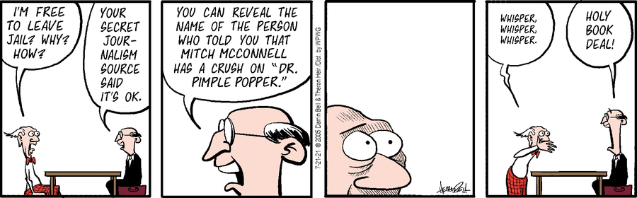 Rudy Park Comic Strip for July 21, 2021