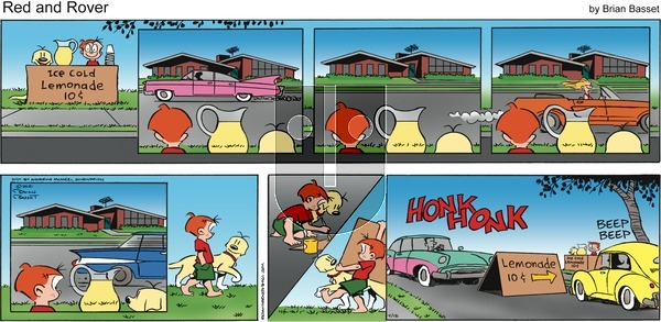 Red and Rover on Sunday July 18, 2021 Comic Strip