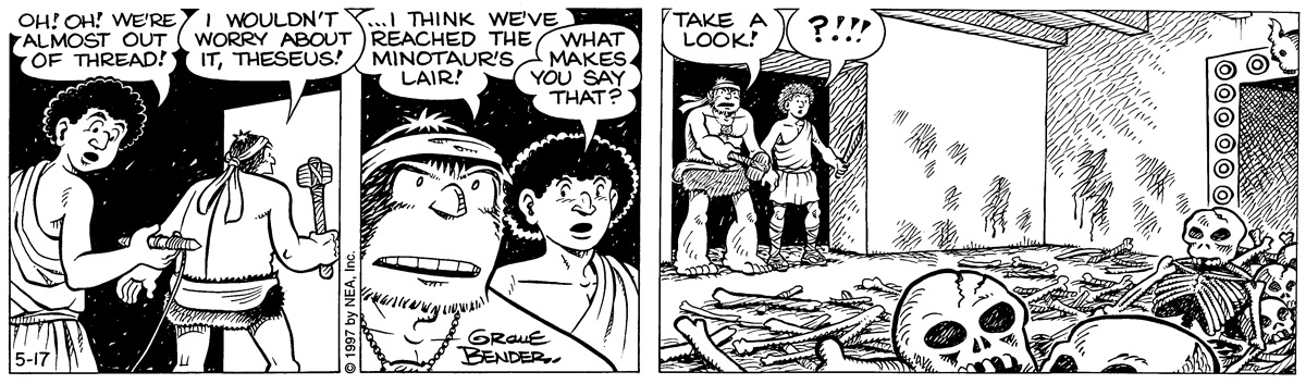 Alley Oop for May 17, 1997 Comic Strip