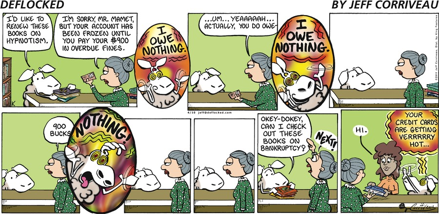 DeFlocked Comic Strip for April 10, 2011