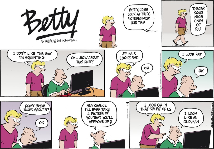 Betty by Gary Delainey and Gerry Rasmussen for September 08, 2019