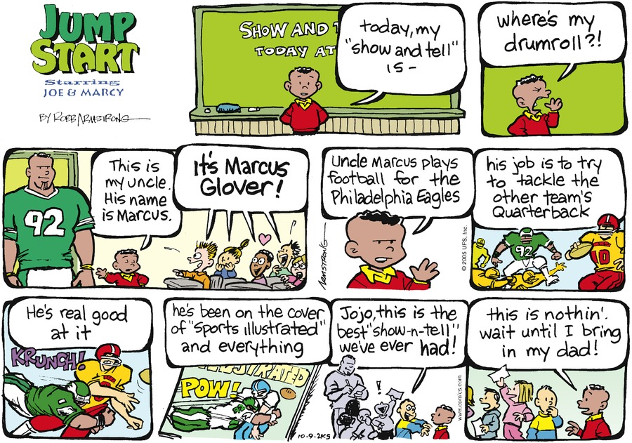 JumpStart for Oct 9, 2005 Comic Strip