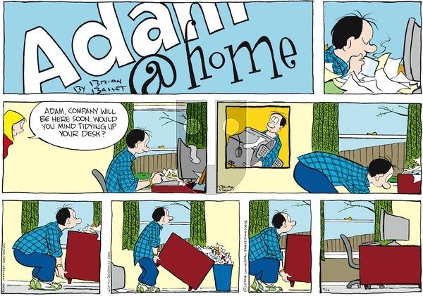 Adam@Home on Sunday March 16, 2008 Comic Strip