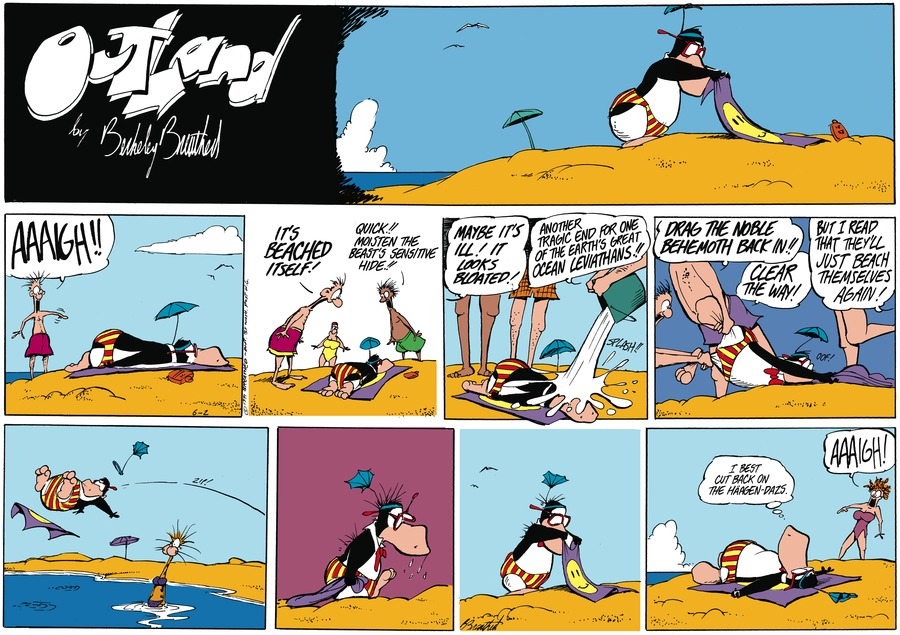 Outland Comic Strip for July 12, 2021