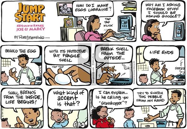 JumpStart on Sunday February 24, 2013 Comic Strip