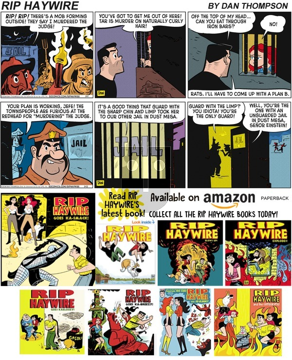 Rip Haywire on Sunday November 10, 2019 Comic Strip