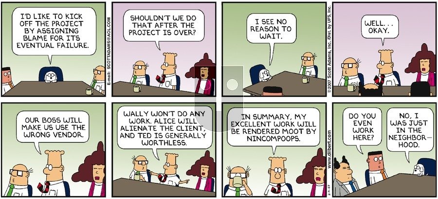 Purchase Comic Strip for 2007-02-04
