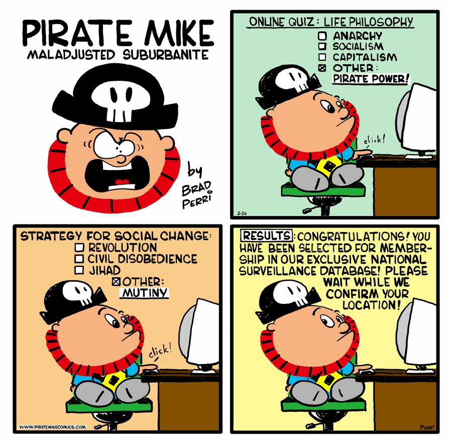 Pirate Mike Comic Strip for July 31, 2020