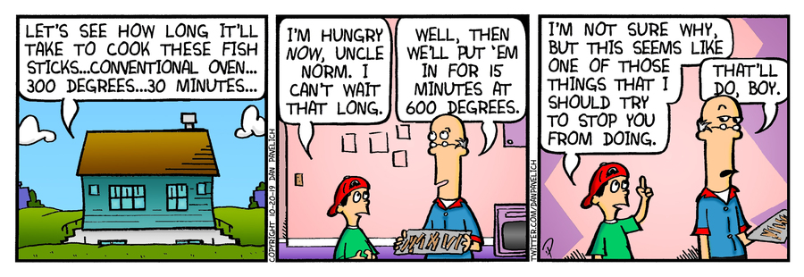 Just Say Uncle Comic Strip for October 20, 2019