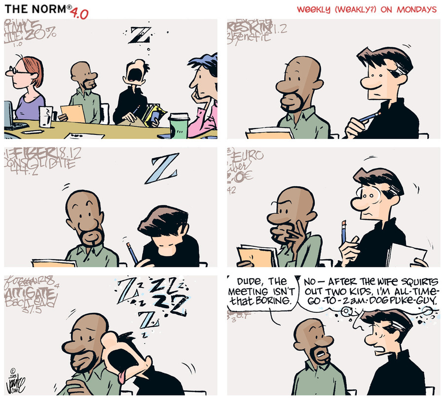 The Norm 4.0 Comic Strip for January 12, 2015
