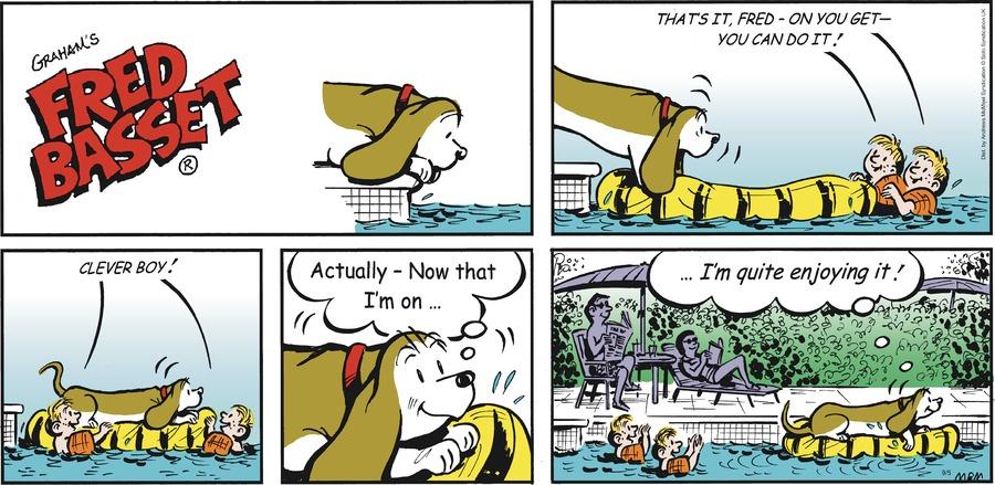 Fred Basset Comic Strip for September 05, 2021