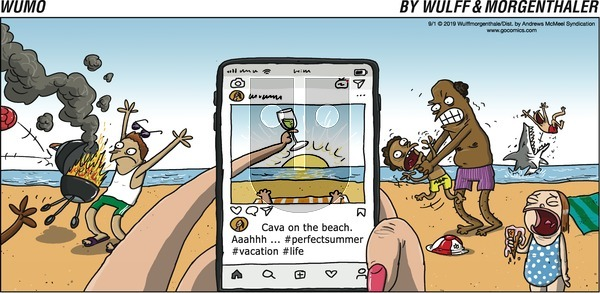 WuMo on Sunday September 1, 2019 Comic Strip
