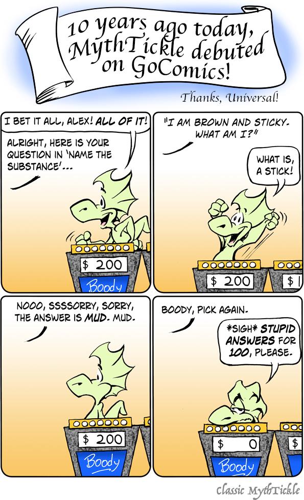 MythTickle for Nov 20, 2017 Comic Strip