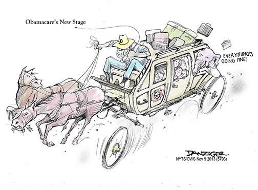 Jeff Danziger Comic Strip for November 10, 2013