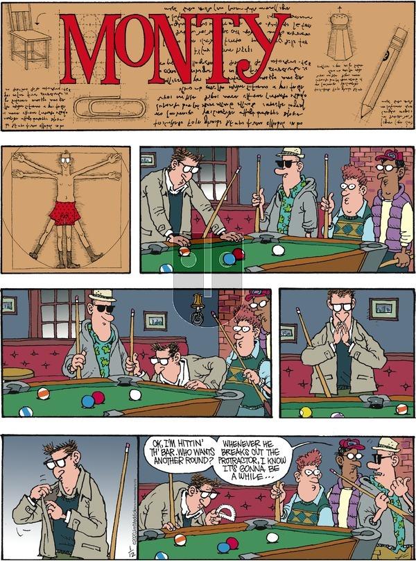 Monty - Sunday January 12, 2020 Comic Strip