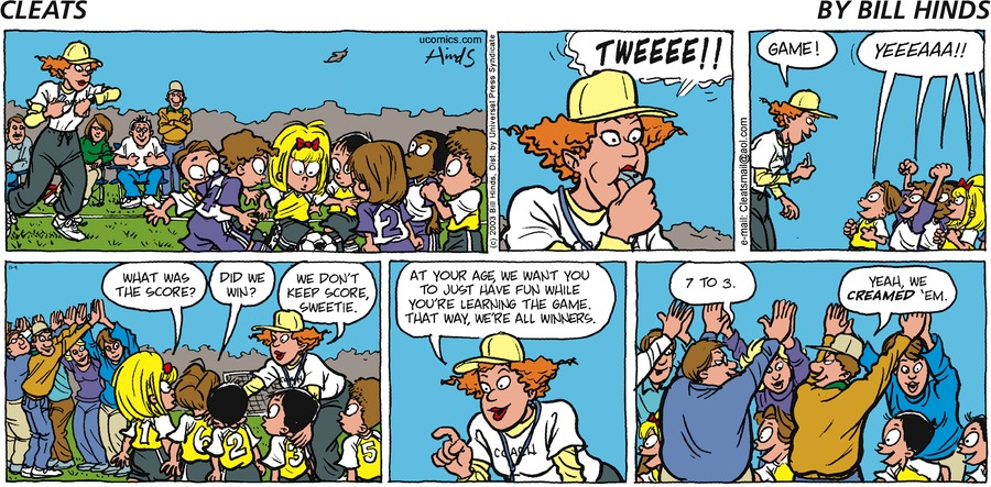 Cleats Comic Strip for November 09, 2003