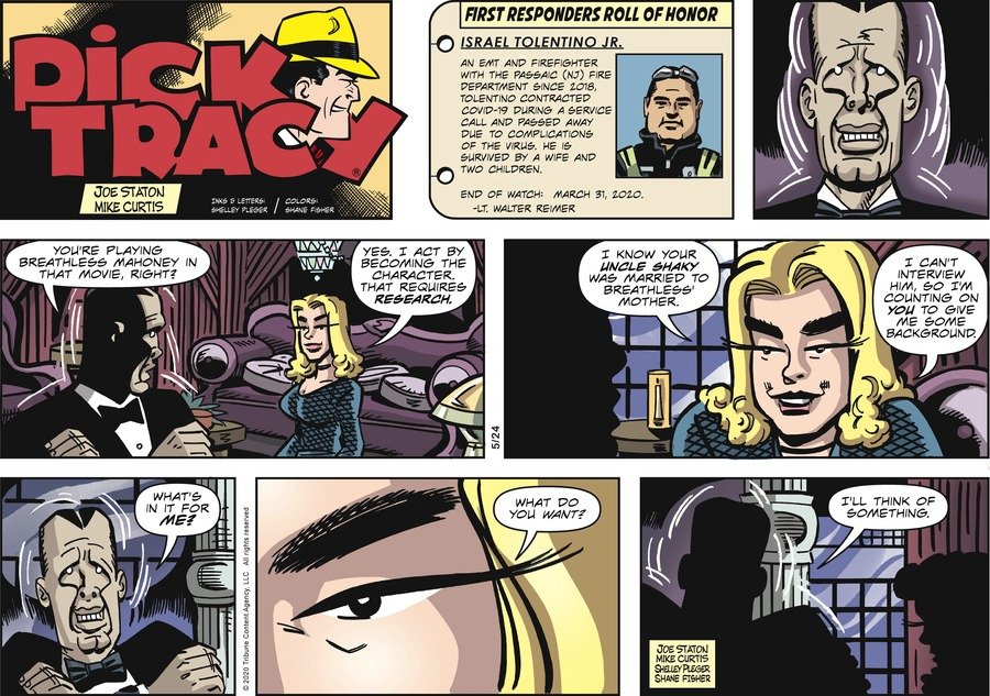 Dick Tracy by Joe Staton and Mike Curtis on Sun, 24 May 2020