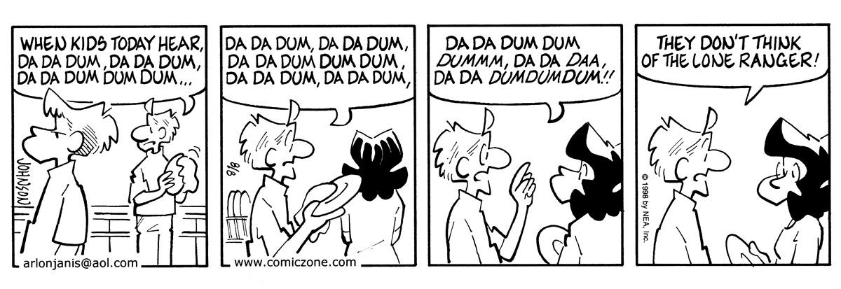 Arlo and Janis for Aug 8, 1998 Comic Strip
