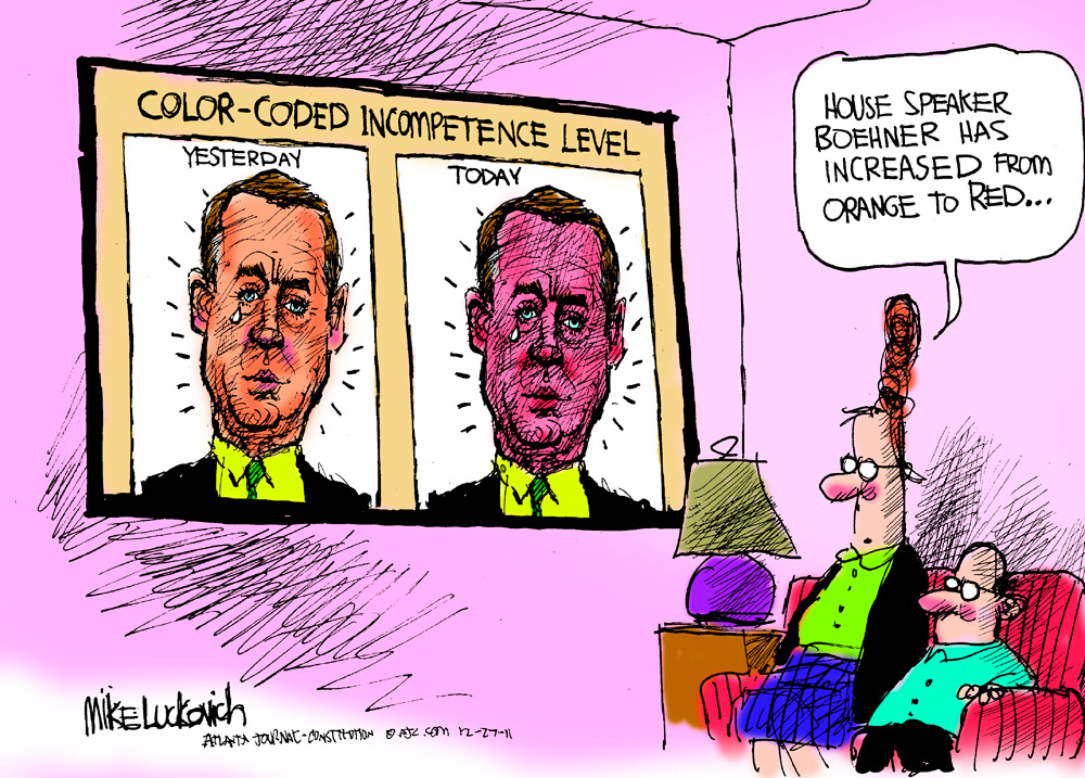 Mike Luckovich Comic Strip for December 27, 2011