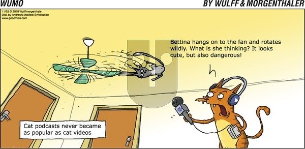WuMo on Sunday November 25, 2018 Comic Strip