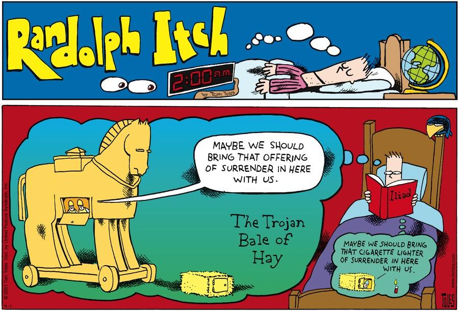 Randolph Itch, 2 a.m. Comic Strip for November 17, 2019
