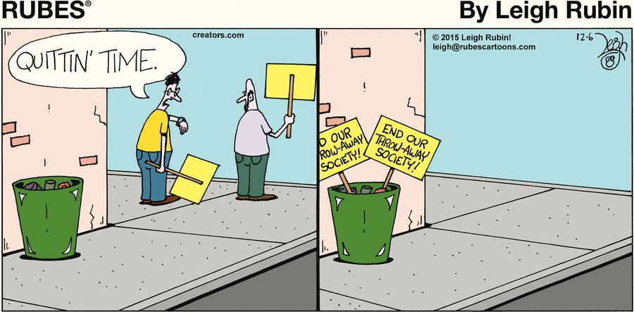 Rubes Comic Strip for December 06, 2020