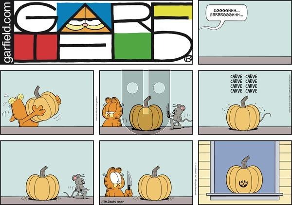 Garfield on Sunday October 27, 2019 Comic Strip
