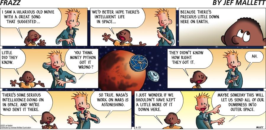 Frazz Comic Strip for June 13, 2021