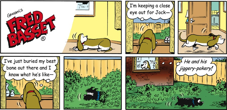 Fred Basset Comic Strip for July 28, 2013