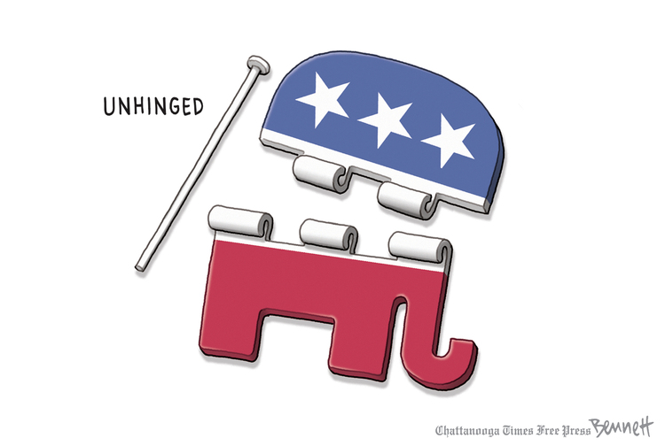 Clay Bennett by Clay Bennett for October 01, 2019