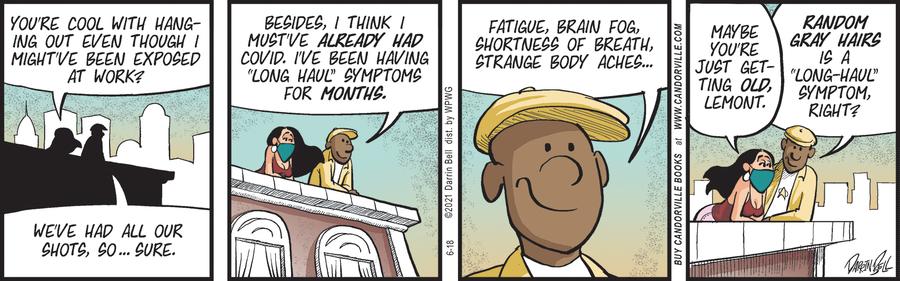 Candorville Comic Strip for June 18, 2021